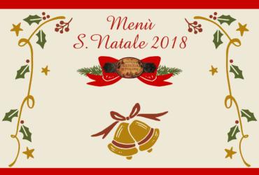 BETTOLETTO MENÙ di NATALE 2018